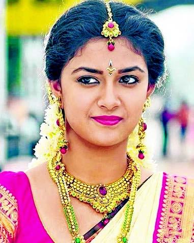 கவிஞராக மாறிய கீர்த்தி சுரேஷ்