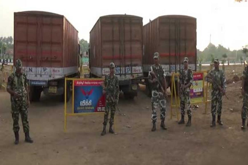 தமிழகத் தேர்தல்: ரூ.570 கோடி பிடிபட்டது