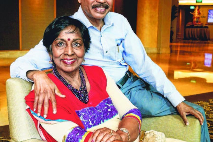 திரு முருகையா சுப்பையா-திருமதி கோவிந்தா இரா தம்பதிகள். இருவருக்கும் வயது 72. படம்: ஸ்ட்ரெய்ட்ஸ் டைம்ஸ்