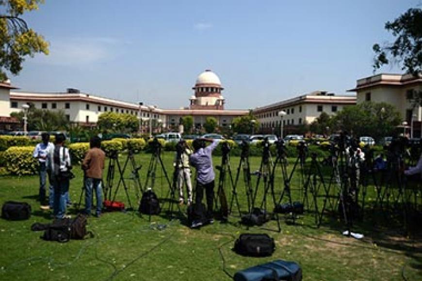 இந்திய உச்சநீதிமன்றம். ஏஎப்பி